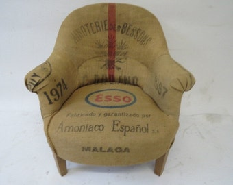 Over stuffed Esso chair