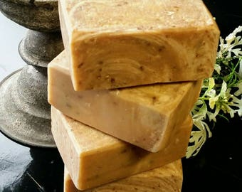 Oatmeal Milk and Honey All Natural Soap