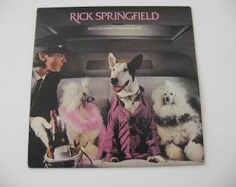 Rick Springfield - Success Hasn't Spoiled Me Yet - Circa 1982