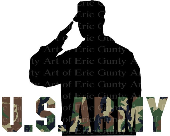 U.S. Army Camo Birthday - Edible Cake and Cupcake Topper For Birthday's and Parties! - D21915