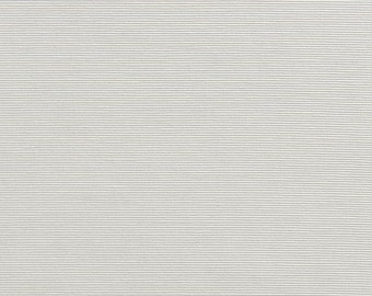White Thin Horizontal Lined Upholstery Fabric By The Yard | Pattern # A0240G