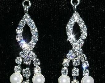 Style # 14017 - Crosswed Waterfall Earrings