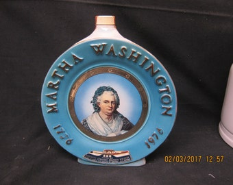 Jim Beam Martha Washington Decanter (1976