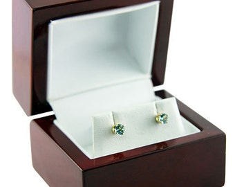 Rosewood Earring Box (Single) (DBX4013)