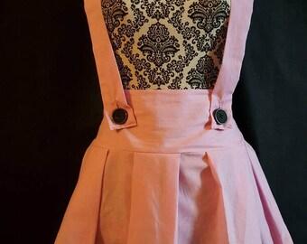 Pastel pleated skirt