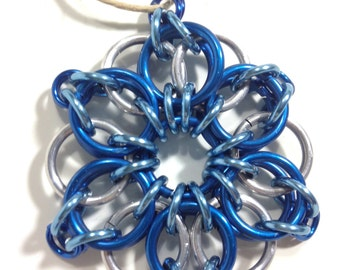 Chainmail Ornament Celtic Star