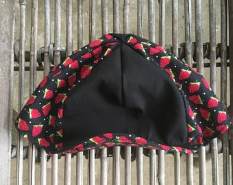 Strawberry Cycling Cap