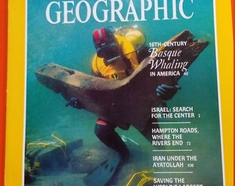July 1985 National Geographic