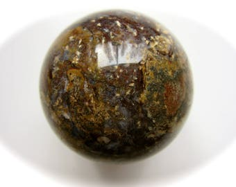 Pietersite Carved Crystal Sphere Ball Spiritual Activation Energy 47mm 146g