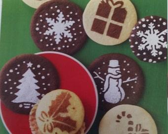 Martha Stewart cupcake & cookie stencils, cookie stencil, cookie supplies, holiday stencils