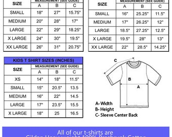 Size Chart - Do NOT Purchase