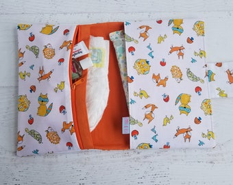 Woodland Diaper Bag | Diaper Bag Accessories | Diaper Clutch | Diaper Pouch | Diaper Bag Organizer | Nappy Bag | Woodland Baby Shower Gifts