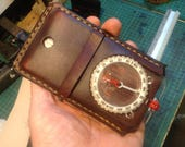Silva Expedition 4 handmade leather compass case