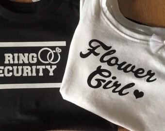 Ring Bearer / Flower Girl Iron On
