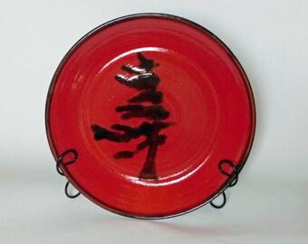 Wind Swept Pine Tree Platter