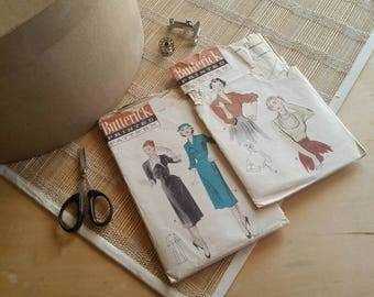 Butterick 50s Vintage Patterns 6308 and 5461
