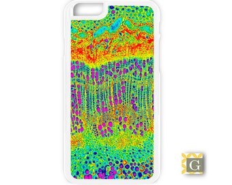 Galaxy S8 Case, S8 Plus Case, Galaxy S7 Case, Galaxy S7 Edge Case, Galaxy Note 5 Case, Galaxy S6 Case - Neon Red Garden