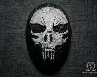 The Punisher skull mask - matt finish