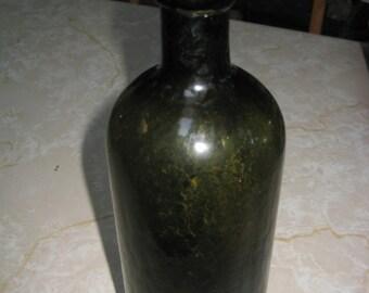 SAXLEHNERS BITTERQUELLE -Dark Green Bottle