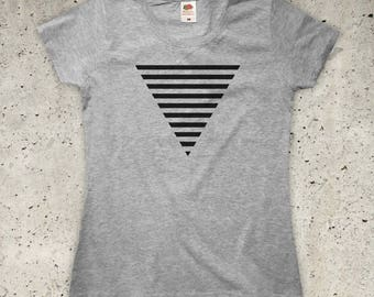 Triangle T-Shirt - All Colours - Womens XS S M L XL