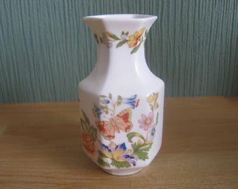 Vintage Aynsley Cottage Garden Bud Vase