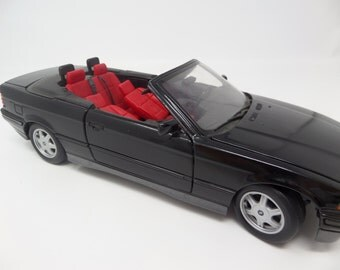 Black and Red BMW Convertible -1993