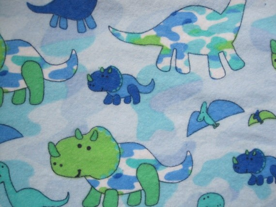 Tummy Time/All ages/Waterproof Bed Pads - Blue, Lime, Dinosaurs