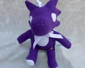 Purple and White Small Dragon