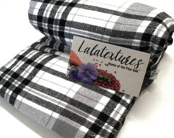Microwave FLAX HEATING PAD, Hot Cold Pack, heat pack,  Large 8x18 in,  Removable/Washable Flannel cover, Fibromyalgia and arthritis relief