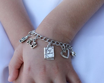 LDS Baptism Gift - Gift of the Holy Ghost Charm Bracelet
