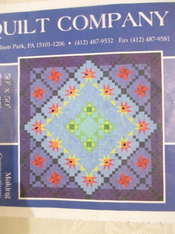 Star Quilt Pattern Pinwheel Quilt Pattern Making Connections : karen montgomery quilt patterns - Adamdwight.com