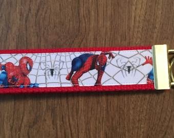 Spiderman Key Chain Zipper Pull
