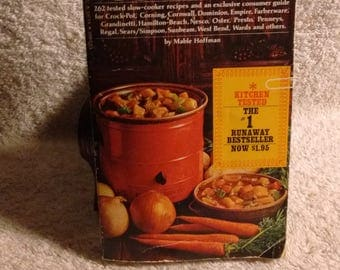 Crockery Cookery by Mable Hoffman c 1975 cookbook