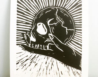 Hamlet print.