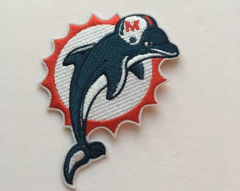 Football Team Logo - Miami Dolphins Patch