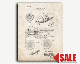 Patent Art - Duck Call Patent Wall Art Print