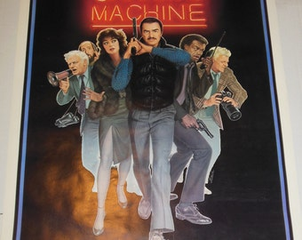 Vintage One Sheet Movie Poster Sharky's Machine Rolled Never Folded 1981 Burt Reynolds