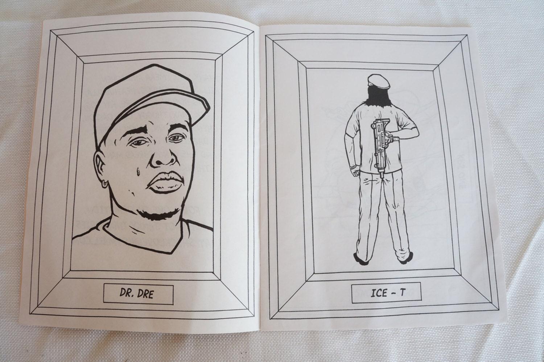 Gangsta Rap Coloring Book Aye Jay | Coloring Pages