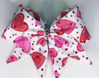 Heart Lace Bow