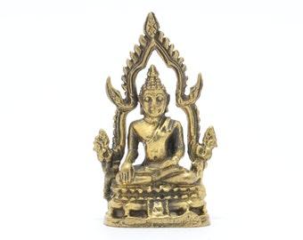 Thai Amulet Buddha statue Phra Phuttha Chinaraja,wealth, rich and good luck.