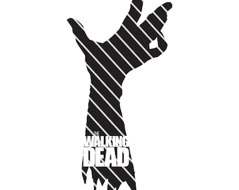 The Walking Dead Hand- SVG file