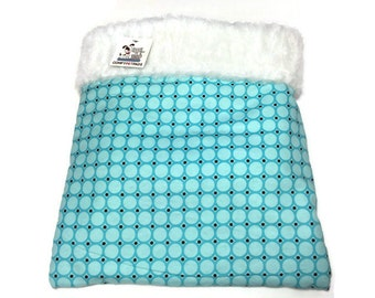 Blue Snuggle Sack, Cuddle Cup, Burrow Bag, Animal Sack, Guinea Pig Bed, Small Chihuahua Bed, Hedgehog Bedding, Snake House, Hamster Bedding