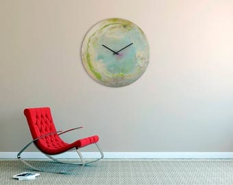 Extra Large wall clocks, Modern Art, Oversized, Abstract art, Contemporary Clock, Unique Wall Light, Planetary Art, Astronomy, Uk seller