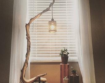 Wooden Floor Lamp Industrial Floor Lamp Arc Floor Lamp