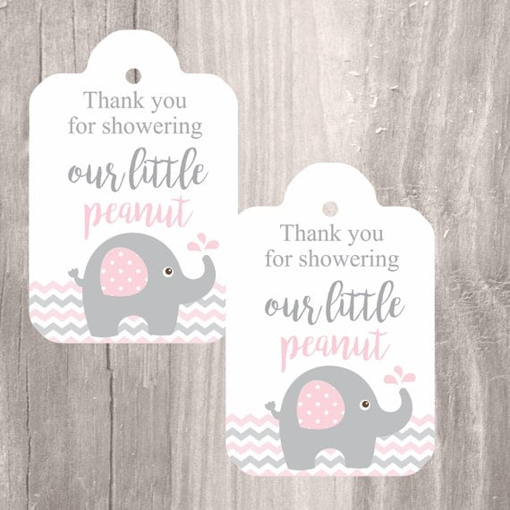 Astounding image with regard to baby shower tags printable