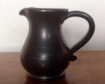 Small Brickhurst Pottery Metallic Glazed Jug. 1970's.