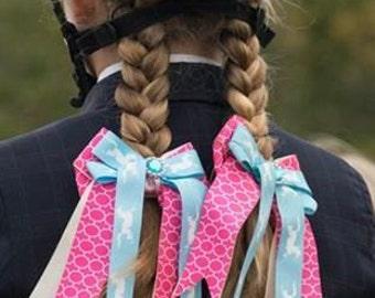 Horse Show Bows/equestrian girl/leadline/short stirrup