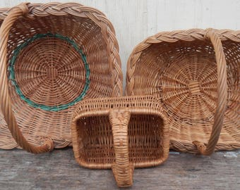 Trio of French Country Baskets!