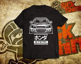6 Gen T-shirt for Honda Civic 6gen lovers and owners.