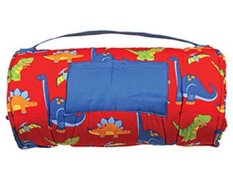 stephen joseph dinosaur nap mat, little boy nap mat, preschool nap mat, pre-k nap mat
